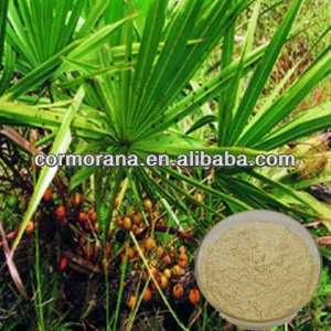 100% Natural saw palmetto extract oil, Fatty Acid 25%-95%