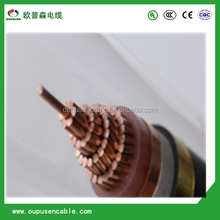 1kV 185mm CU / XLPE / STA / PVC Power Cable Armored in GI Tape