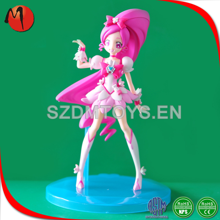 High quality anime girls flower fairy sexy figurine collectible toys