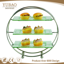 3 tier banquet food display catering material for restaurant, used catering equipment for sale