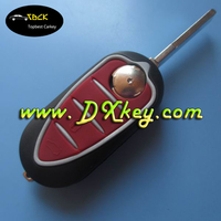 High quality 3 button fob key with SIP 22 blade for alfa romeo key key for car alfa romeo