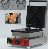 new design waffle cake maker /commercial waffle maker/electric wafer machine