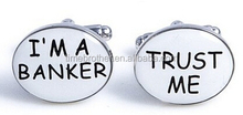 Financial Advisor Banker Cufflinks Set Wholesale