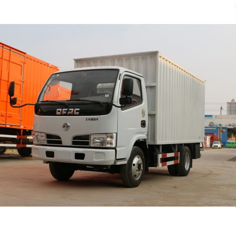 3 ton 5t cargo van truck for sale small DFAC truck