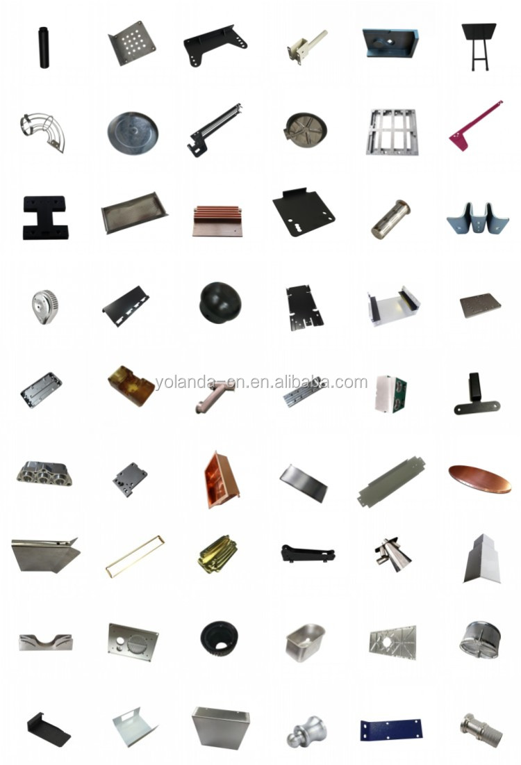 Factory Low Price High-end Quality Sheet Metal Fabrication Custom Metal Brushing Hotel Docoration Lock Shell