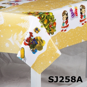 shuangjie christmas coloring tablecloth pvc with latest designs buy table clothpvc table clothpvc table cloth roll product on alibabacom