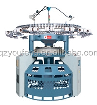 HIGH SPEED GROZ-BECKERT NEEDLE DOUBLE/INTERLOCK / RIB CIRCULAR KNITTING MACHINE