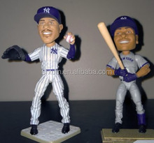 OEM ODM action figure factory custom make pvc Baseball action figure
