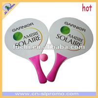 Promotional Wooden Beach Racket With Sedex
