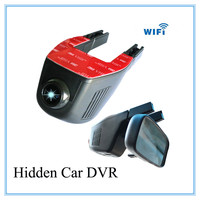 2015 Newest Special car dvr no screen1920*1080P 140 Degree Wide Angel Car Video Recorder WIFI Car Camera Black Box