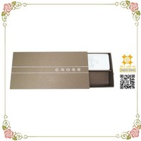 Brownish dessert perfume custom made packaging paper case