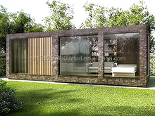 Well design modern beautiful small prefab houses / prefab log cabin