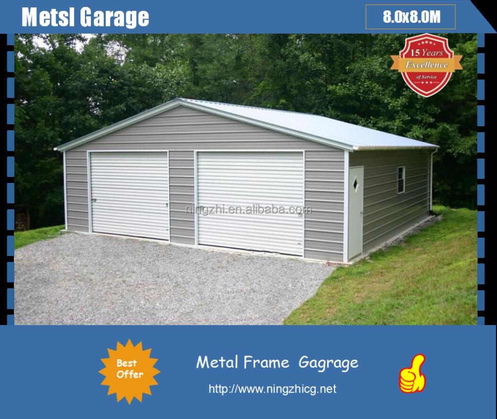Al por mayor del coche de metal garaje almac n de acero for Costo del garage 24x36