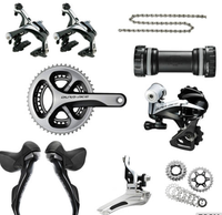 2016 Shimanos ( COMPLETE ) Dura Ace 9070 11s Di2 Electronic FULL Group Set