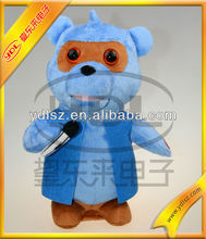 christmas animated plush musical dancing toy