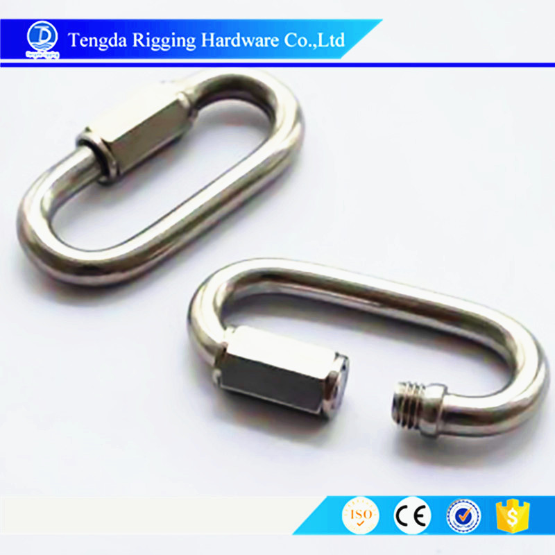 Stainless Steel Quick Link Marine Hardware