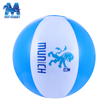 Logo customised EN71inflatable pvc branded beach balls