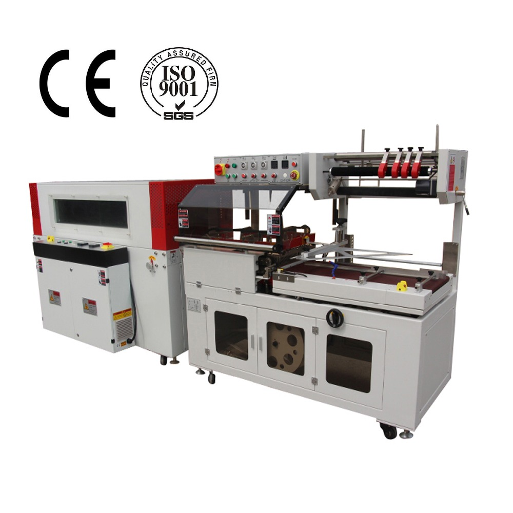 Fully-auto L Sealing Machine Shrink Wrap Production Line