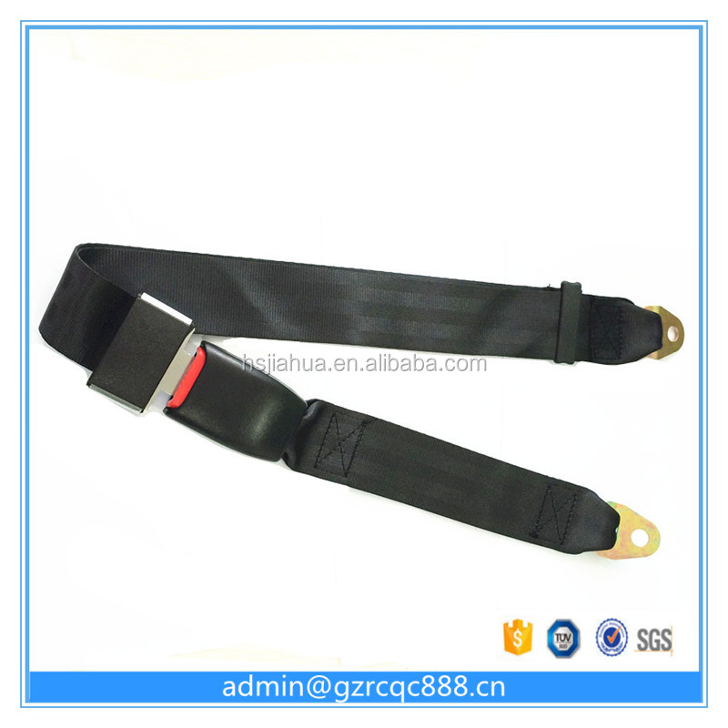 Hot sales safety belt 2 points car seat belt