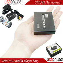 1080P Full HD Mini HDMI Media Player box with Autoplay Auto play folder repeat playing function