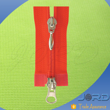 Middle East hot sale open end double sided nylon zipper