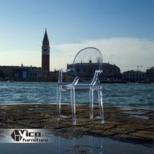 manufacturer best price designed by famous desginer popular clear acrylic folding chairs