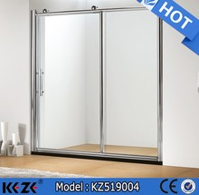 6/8mm tempered glass small shower stalls sliding door walk in shower stalls