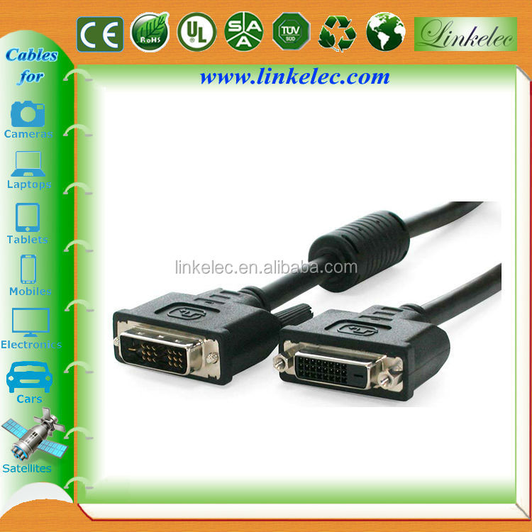 6ft DVI-D Single Link Monitor Extension Cable for HDTV/DVD