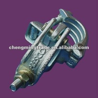 Electroplated EN74 B Precised pressed Double couplers scaffolding Coupler Q235