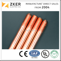 99.9% Pure Copper Rod Factory Copper Tape Producer for Grounding