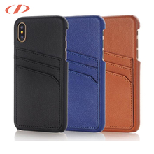 Full grain leather for iphone x wallet case for iphone x case blue