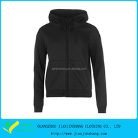promotion women's zip hoodies with two pocket