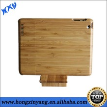 wood natural bamboo hard case cover for ipad 2 3 4
