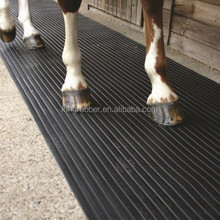 Durable rubber horse mat, stable mat from Qingdao factory