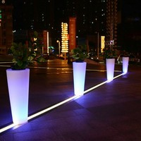 Home Garden Decor Plastic Led Lighting