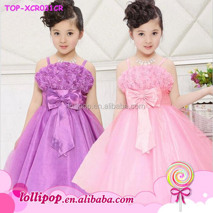 2016 Elegant Baby Girl Wedding Dress Latest