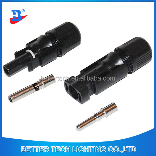 MC4 Plug Solar Panel Cable Connector Male and Female Cable Connectors