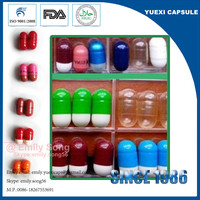 empty hard gelatin capsule shell FOR capsule machine manual capsule filling machine