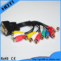 AV use rca to vga converter cable 0.2m