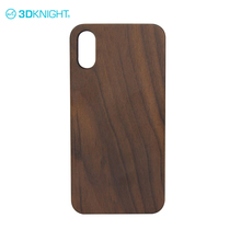 Super quality design walnut wood mobile phone case for iphone 8