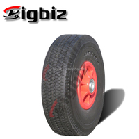High quality small solid rubber wheel