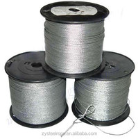 pvc coated steel wire rope for poultry farm 1-60mm