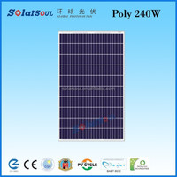 240w high efficient solar for agriculture pv poly solar panel