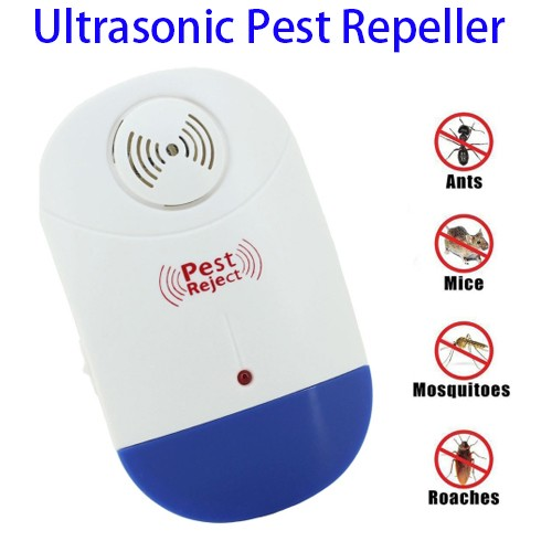 Ultrasonic Mosquito Pest Repeller Control Electronic Plug In-Repelling for Insects-Roaches , Flies, Ants, Mice