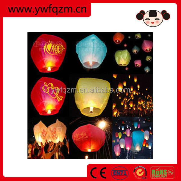 promotional and traditional chinese sky lanterns