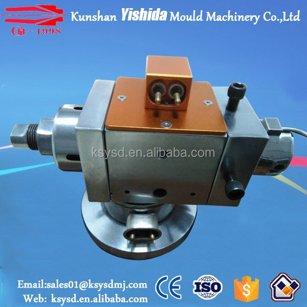 Manual Centering extrusion crosshead for wire extrusion line from Kunshan Yishida