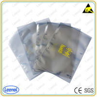Plastic anti-static shielding bag for electronic components packing