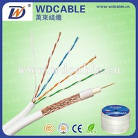 Combination Cable Manufacturer Coaxial Cable RG 75 Ohm