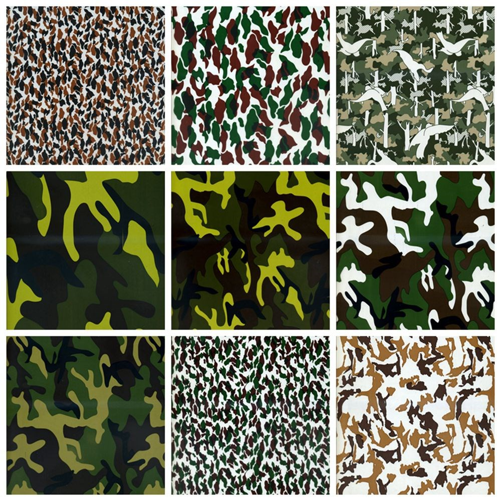 Hot Sale Camouflage Pattern Water Transfer Printing Film Hydrographic Printing Film Aqua Print CUSTOM SPECIALTY FILM MC56