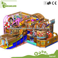 Wonderful!!! Commercial kids pirate ship indoor playground